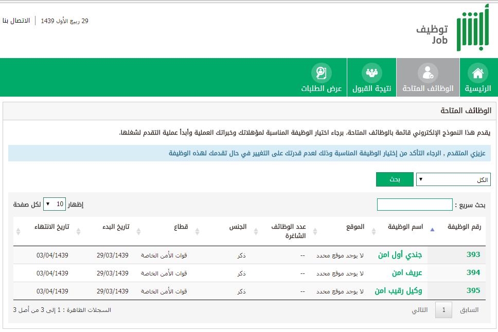 رابط تقديم قوات الأمن الخاصة السعودية 1439 الآن وشروط التقديم والمؤهلات وأخر موعد للتسجيل