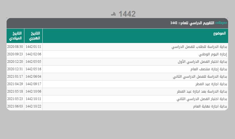 التقويم الدراسي 1439 لخمس سنوات ومواعيد الإجازات الرسمية وأخبار وزارة التعليم خبر اليوم