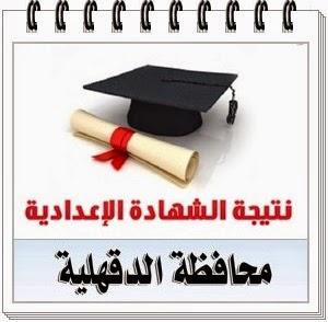 نتيجة الإعدادية محافظة الدقهلية 2018