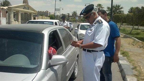الاستعلام عن مخالفات المرور مصر برقم اللوحة المرورية للسيارة