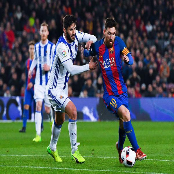 نتيجة مباراة برشلونة وريال سوسيداد