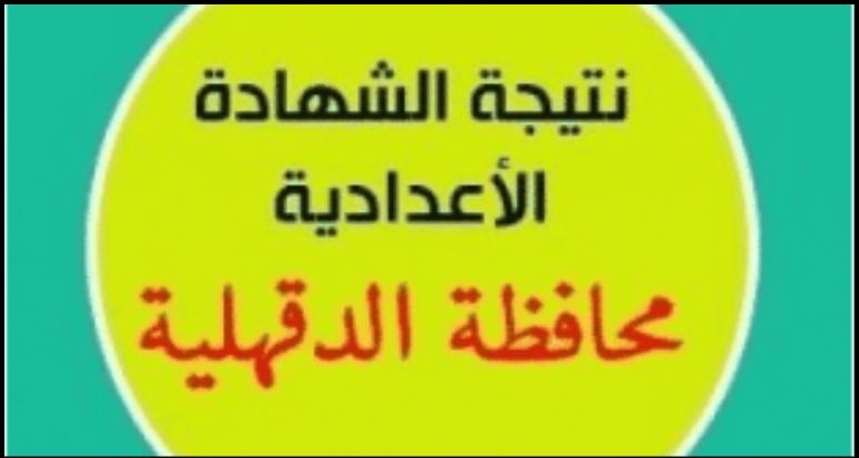 عطل بموقع مديرية التربية والتعليم بالدقهلية يمنع معرفة نتيجة الشهادة الإعدادية 2018