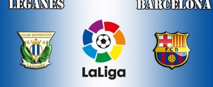 موعد مباراة برشلونة وليجانيس