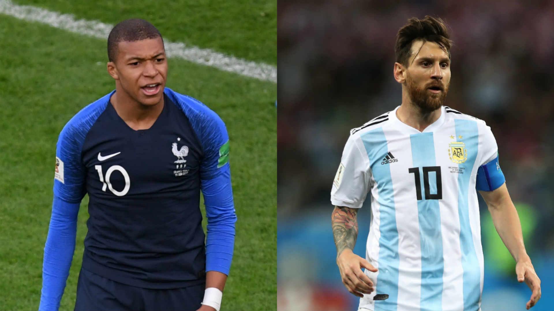 نتيجة وملخص مباراة فرنسا والأرجنتين اليوم