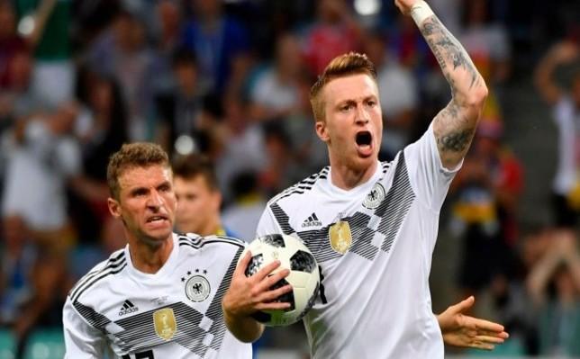 نتيجة مباراة المانيا وكوريا الجنوبية اليوم