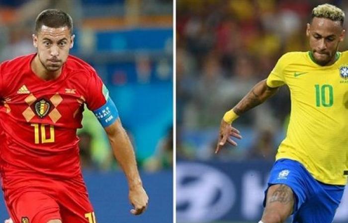 نتيجة وملخص مباراة البرازيل وبلجيكا اليوم