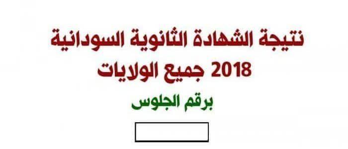 نتيجة الشهادة السودانية 2018 برقم الجلوس موقع وزارة التربية والتعليم دولة السودان