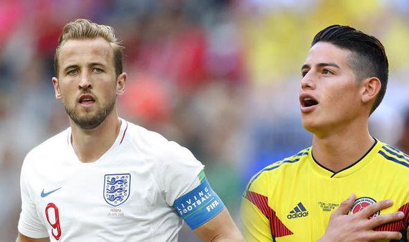 نتيجة وملخص مباراة انجلترا وكولمبيا اليوم