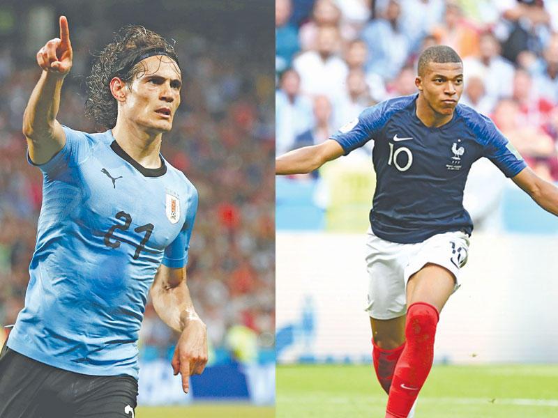 نتيجة وملخص مباراة فرنسا والأوروغواي اليوم