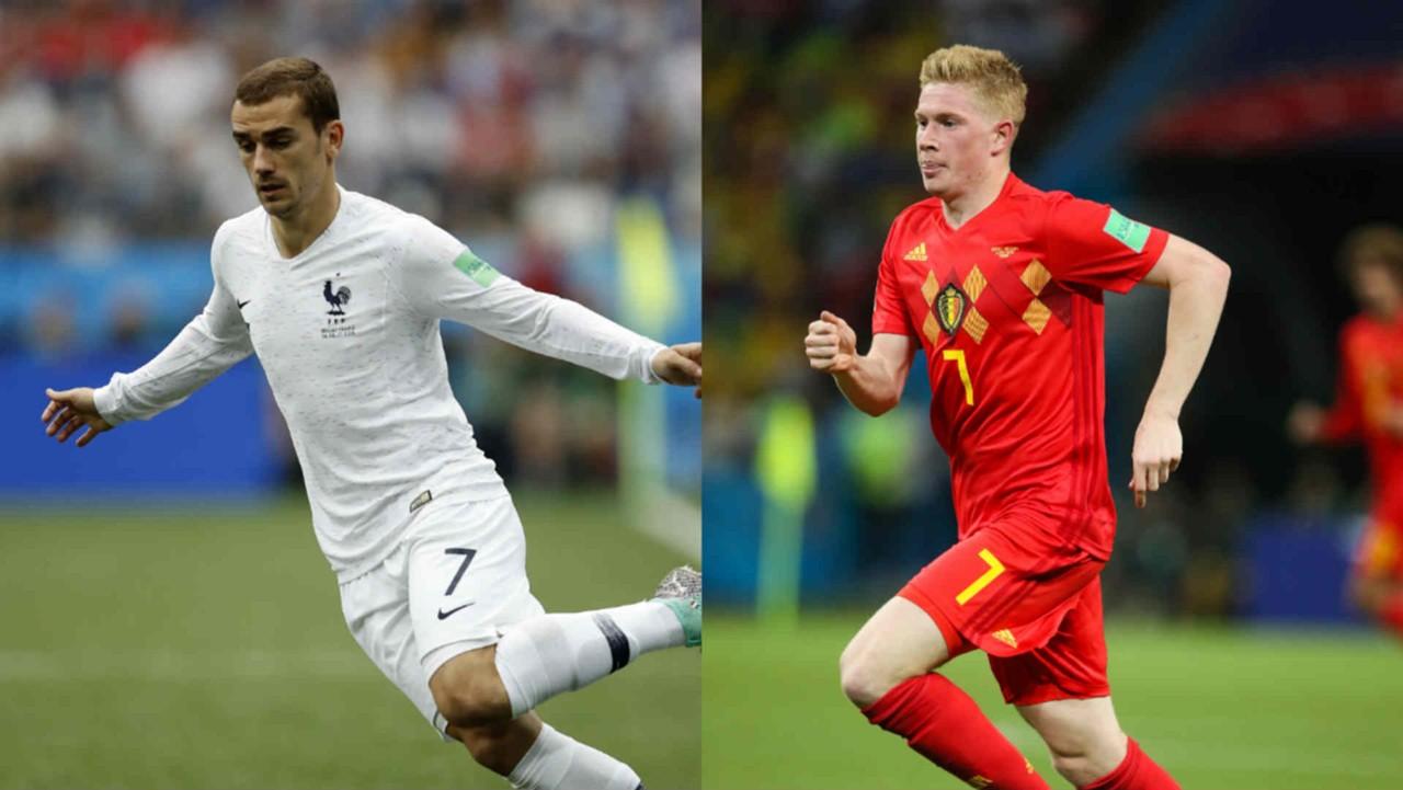 مباراة فرنسا وبلجيكا اليوم