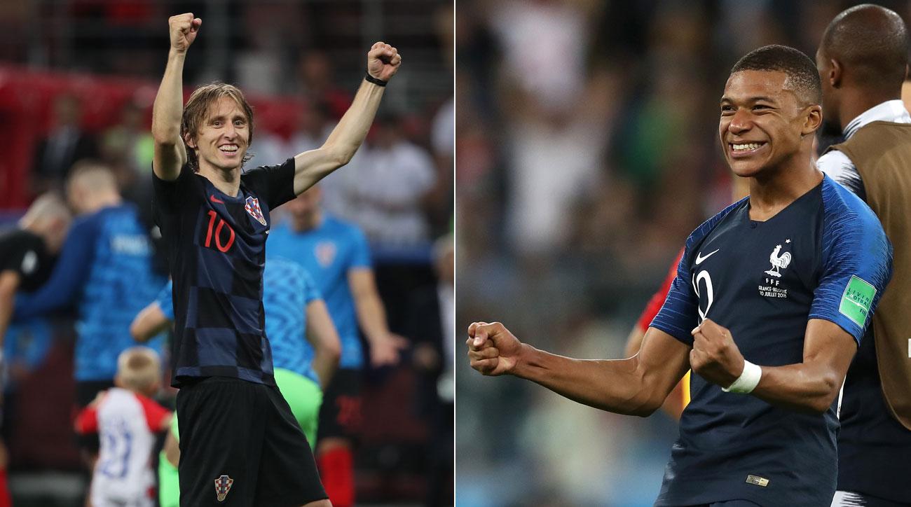 فرنسا ضد كرواتيا اليوم