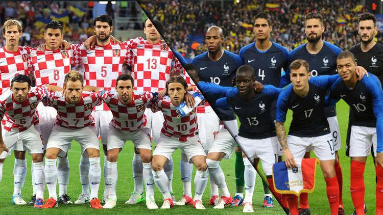 موعد مباراة فرنسا وكرواتيا اليوم