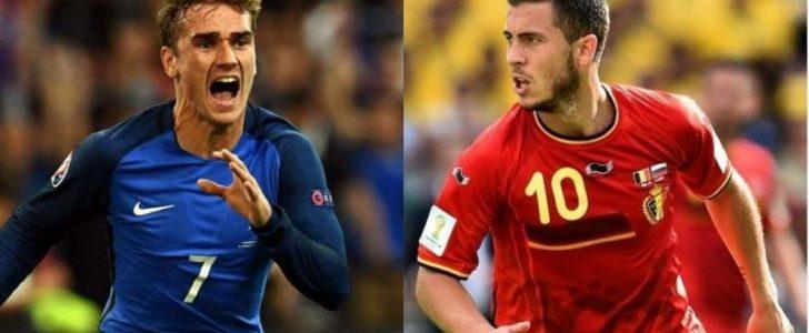 موعد مباراة فرنسا وبلجيكا