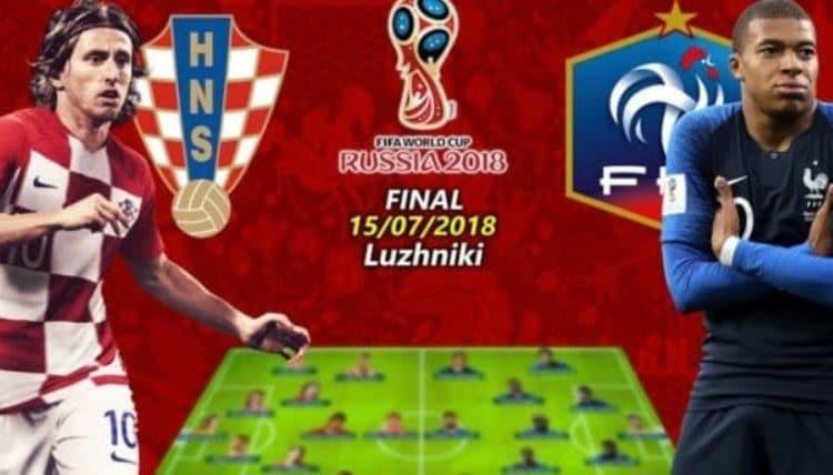 موعد نهائي كاس العالم روسيا 2018